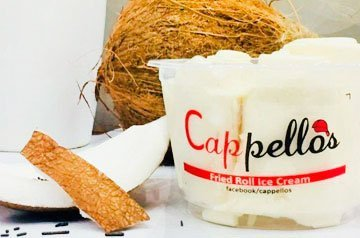 Cappellos – Fried Roll Ice Cream