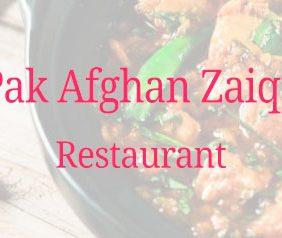 Pak Afghan Zaiqa Res...
